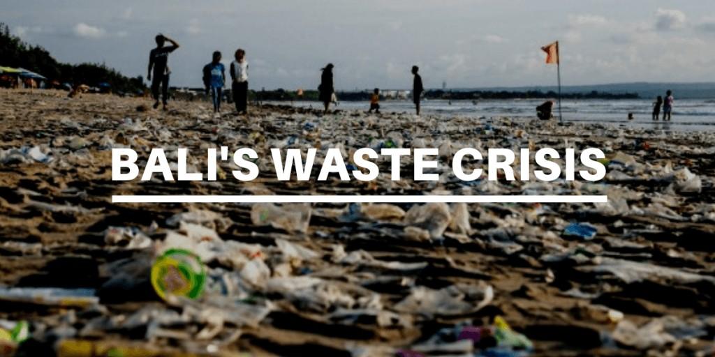bali's waste crisis