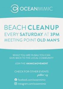 Poster of an Ocean Mimic cleanup