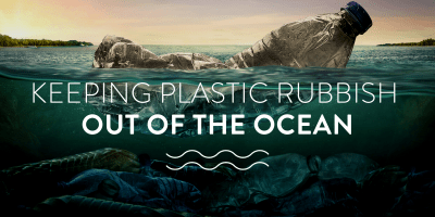 Keeping plastic rubbish out of the ocean