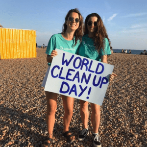 get involved - lead a cleanup AND about us - timeline - world cleanup day