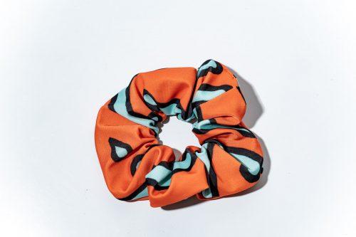 Mandarinfish Scrunchie