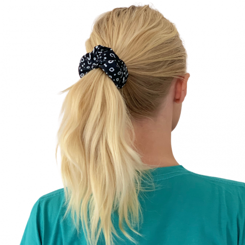 Eagle Ray Scrunchie