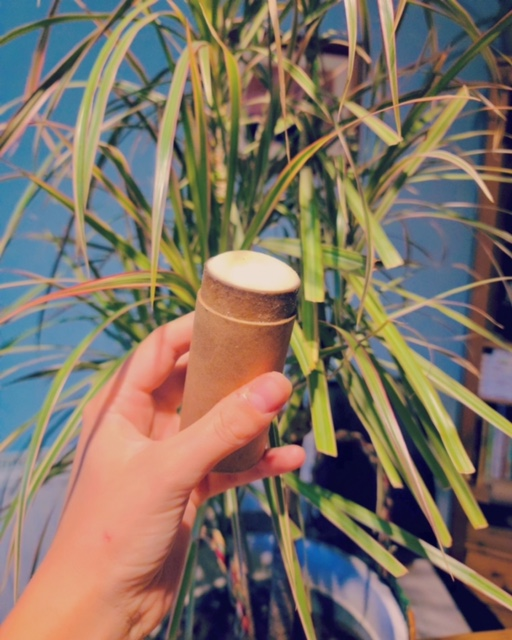 natural deodorant containers - cardboard