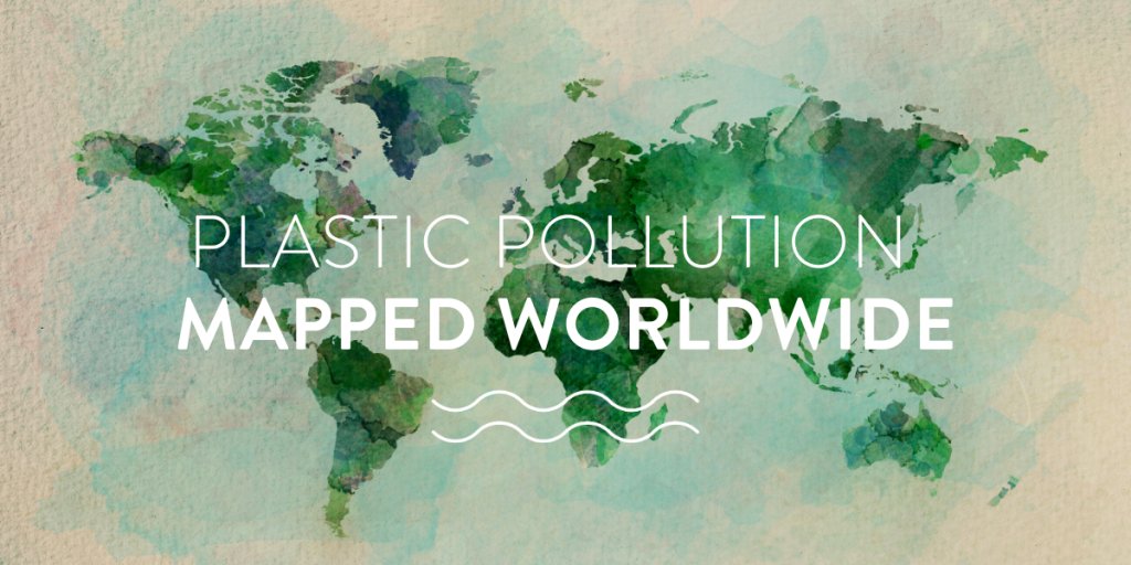 Plastic pollution mapped worldwide