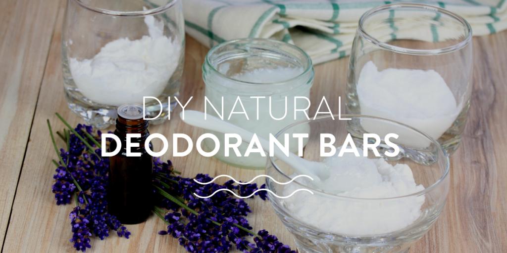 DIY natural deodorant bars