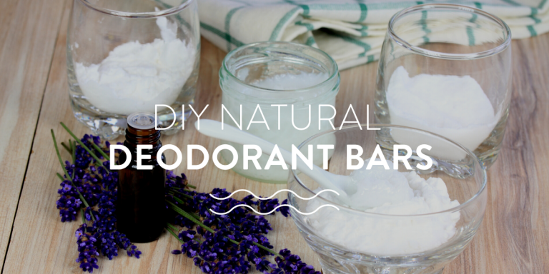 DIY natural deodorant bars