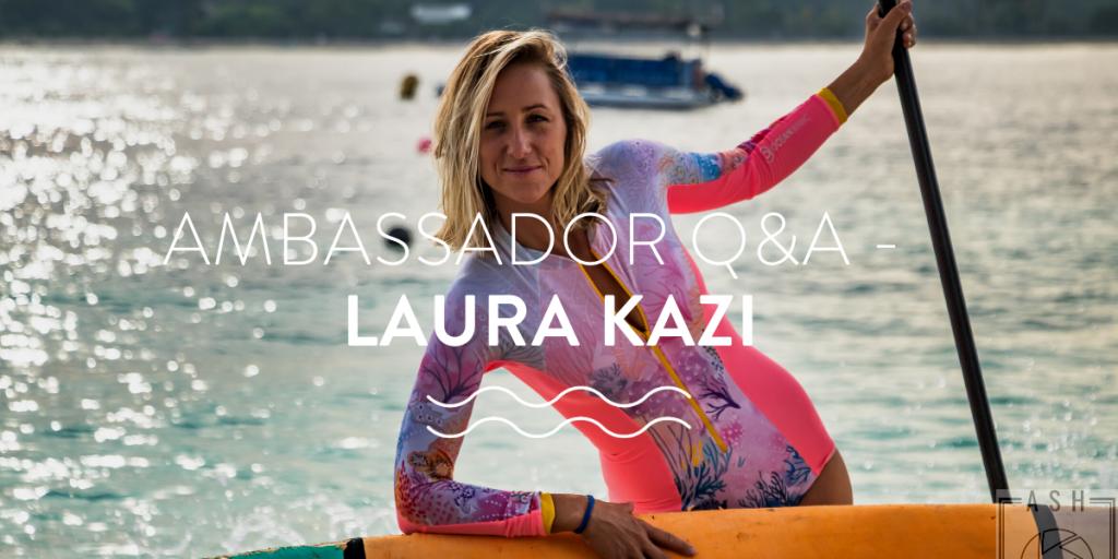 Laura Kazi went diving - ambassador q&A