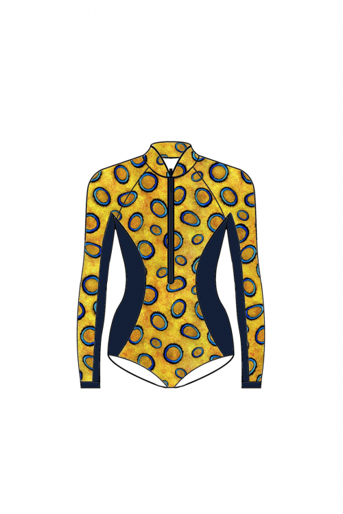 Blue Ringed Octopus Bodysuit – LIMITED EDITION