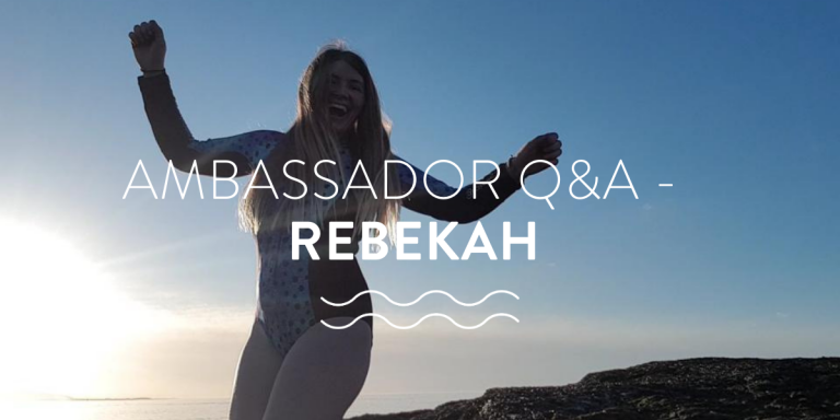 Ambassador Q&A with cold water swimmer Rebekah